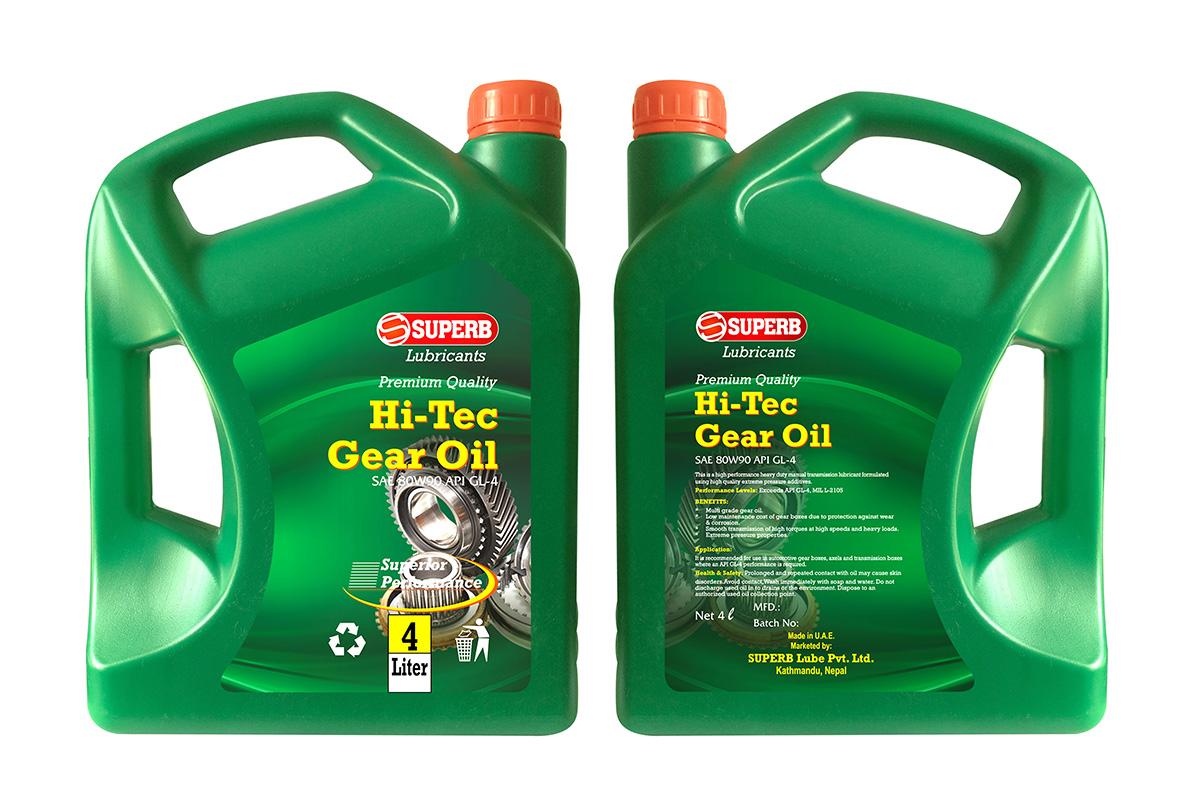 Hi-Tec Gear Oil 80W90</a>